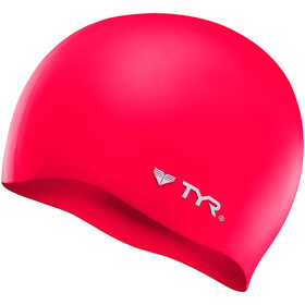 TYR Silicone Cap No Wrinkle, red